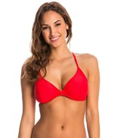 Body Glove Smoothies Swimwear Solo DDDEF Cup Underwire Bikini Top