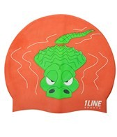 1Line Sports Gater Silicone Swim Cap