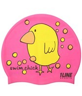 1Line Sports Swim Chick Silicone Cap