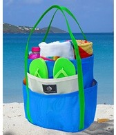 Saltwater Canvas Dolphin Beach Bag