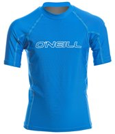O'Neill Youth Basic Skins Short Sleeve Crew Rashguard