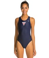 The Finals Lifeguard Super V-Back One Piece Swimsuit
