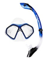 U.S. Divers Admiral 2LX/Island Dry Mask and Snorkel Set