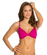 Skye So Soft Solid Hilary Underwire Bikini Top (D/DD/E/F Cup)