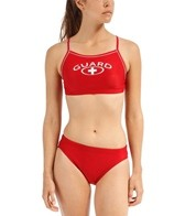 Waterpro Female Poly Lifeguard Piped Bikini Swimsuit