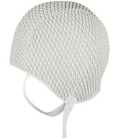 Sporti Bubble Swim Cap with Chin Strap