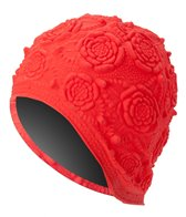 Sporti Rubber Ornament Swim Cap