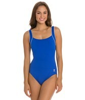 TYR Solid Square Neck Controlfit