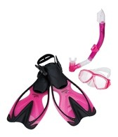 Speedo Junior Adventure Mask, Snorkel and Fin Set
