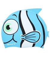 Sporti Cartoon Clownfish Silicone Swim Cap Jr.