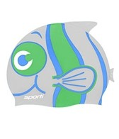 Sporti Cartoon Clownfish Silicone Swim Cap Jr.