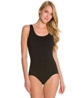 Penbrooke Krinkle Cross Back D Cup Mio One Piece Swimsuit