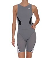 TYR Carbon Women's Zipper Back Short John