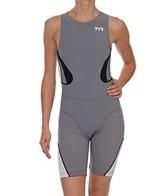 TYR Carbon Women's Zipper Back Short John