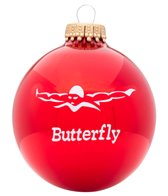 Bay Six Butterfly Stroke Ornament