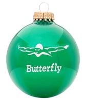 Bay Six Butterfly Stroke Ornament