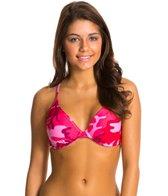 Sporti Modern Camo D/DD/E/F Cup Underwire Bikini Top