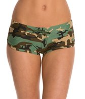 Sporti Modern Camo Boyshort Swim Bottom