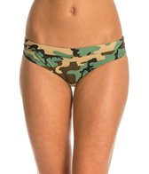 Sporti Modern Camo Hipster Workout Bikini Swim Bottom