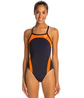 The Finals Shark Splice Butterfly Back One Piece Swimsuit