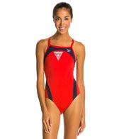 The Finals Lifeguard Splice Butterfly Back One Piece Swimsuit