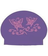 Bettertimes Butterfly Solid Latex Cap