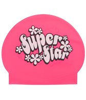 Bettertimes Superstar Solid Latex Swim Cap