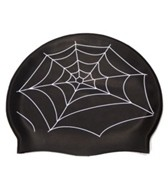 Bettertimes Spiderweb Solid Latex Swim Cap