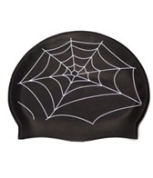 Bettertimes Spiderweb Silicone Swim Cap