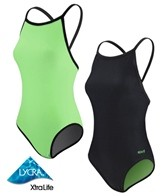 Sporti Neon Reversible Thin Strap Swimsuit
