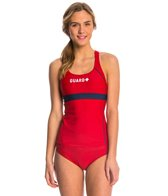 Sporti Guard Racerback Solid Tankini Top