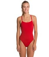 sporti-polyester-solid-thin-strap-swimsuit