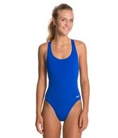 sporti-polyester-solid-wide-strap-swimsuit