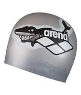 arena-multi-jr.-arena-world-silicone-swim-cap
