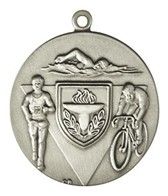 1.75 Triathlon Die Struck Medal