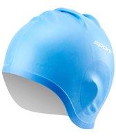 Sporti Silicone Ear Swim Cap