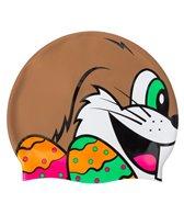 Sporti Mr. Bunny Silicone Swim Cap