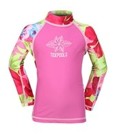 Tidepools Girls' Hanalei L/S Rash Guard (2-14yrs)
