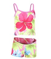 Tidepools Girls' Hanalei Surf Bottom Tankini Set (2-14yrs)