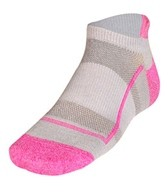 Feetures Pure Comfort Ultra Light Cushion Running/Cycling No Show Tab Socks