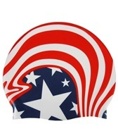 sporti-american-wave-silicone-swim-cap