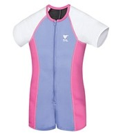 TYR Girls' Solid Thermal Suit (2yrs-10yrs)