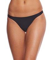 Sporti Solid Thong Bikini Swim Bottom