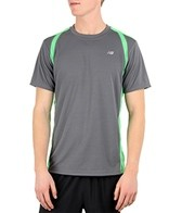 New Balance Men's NP Short Sleeve Running Shirt