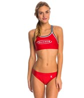 TYR LifeLifeguard Solid Dimaxfit Workout Bikini Swimsuit