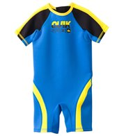 Quiksilver Toddler Boys' Syncro 1.5mm Short Sleeve Spring Wetsuit