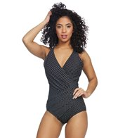Miraclesuit Pin Point Oceanus One Piece Swimsuit (DD Cup)