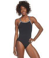 Dolfin Poly Solid DBX Back Swimsuit