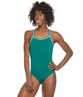 Dolfin Poly Solid DBX Back One Piece Swimsuit