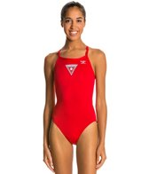 The Finals Lifeguard Polyester Butterfly Back One Piece Swimsuit